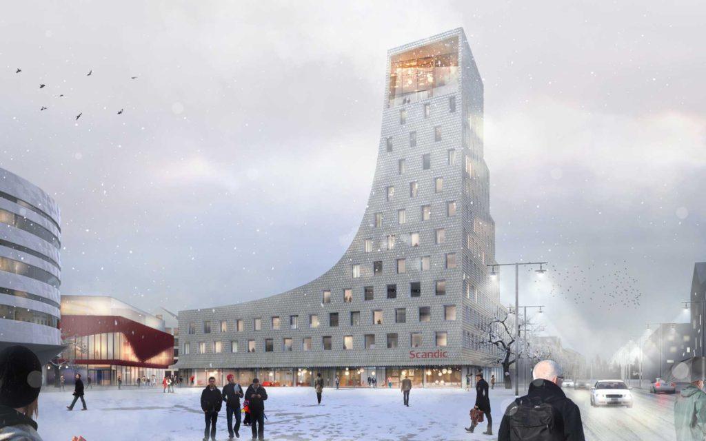 Kiruna, Skanska
