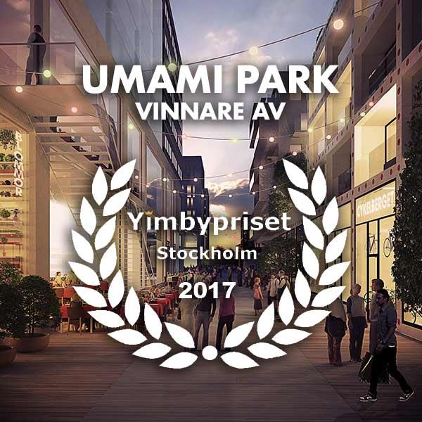 Umami - Vinnare av YIMBY priset