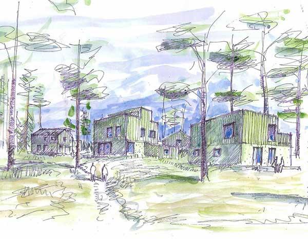 Anebyhus bygger i Lindö Strand