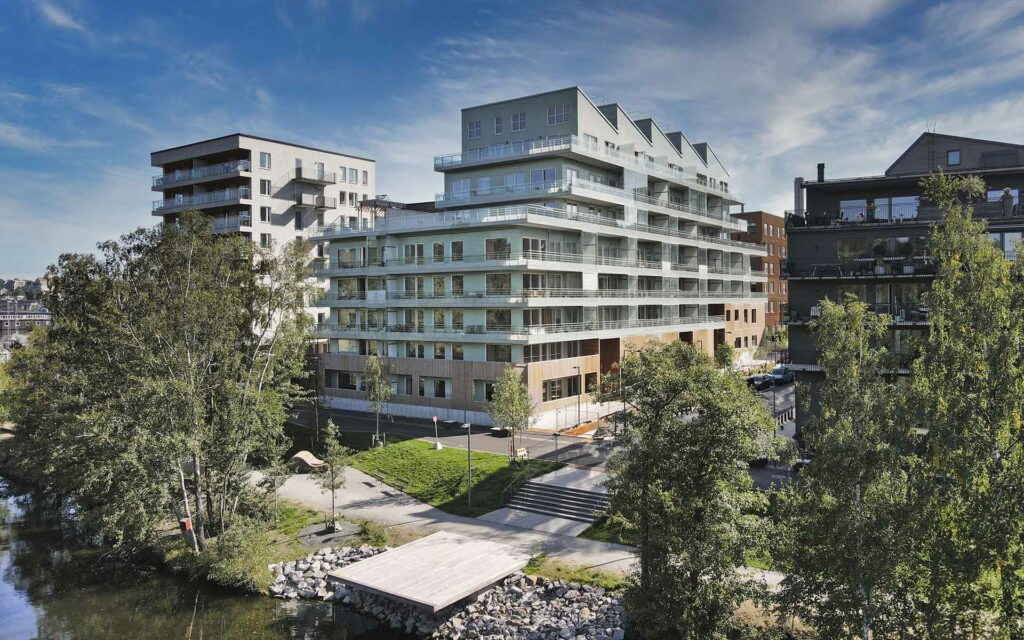Djurgårdsvyn, Riksbyggen